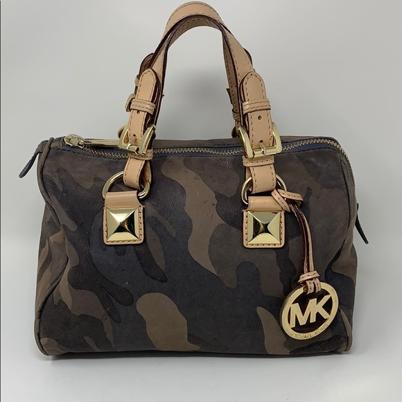4725edd9881d Michael Kors Bags   Grayson Mini Satchel Camouflage   Poshmark